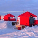 Communications tent. Catlin Arctic Survey.
