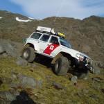Icelandic mountain rescue vehicle, Batman Beginnings.