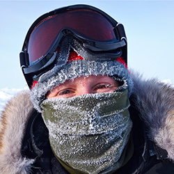 Person in an Extreme Environment